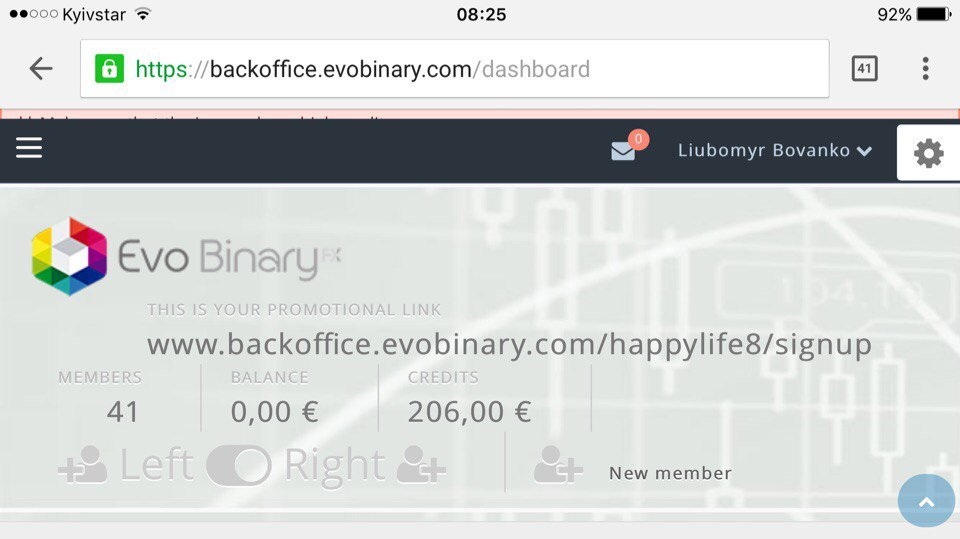Прошел мой первый месяц в компании Evo Binary3